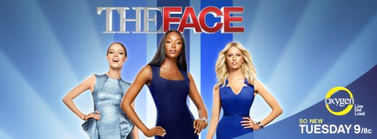 The Face mentors, supermodels Coco Rocha, Naomi Campbell and Karolina Kurkova. Image courtesy of Facebook.com/TheFaceOnOxygen