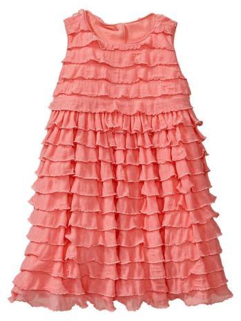 Gap Empire Ruffle Dress in Tea Rose. Gap. Easter