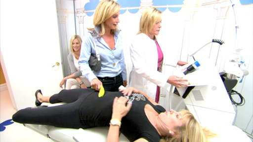 """Ramona Singer is going in for some light plastic surgery, so she takes her new friend Kristen Taekman for a combo consult on the July 8, 2014 episode of """"The Real Housewives of New York"""""""