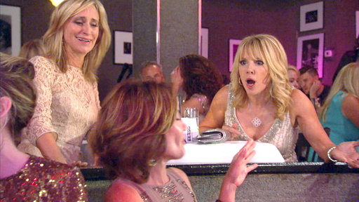 """When Luann de Lesseps refused to sing, Ramona Singer has some choice words about her singing voice on the July 8th episode of """"The Real Housewives of New York"""":"""