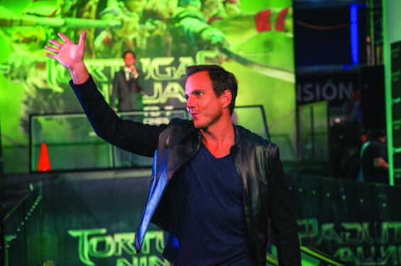"""Latin American Premiere Of """"Teenage Mutant Ninja Turtles""""  MEXICO CITY, MEXICO - JULY 29: Actor Will Arnett attends the Latin American Premiere of Paramount Pictures' """"TEENAGE MUTANT NINJA TURTLES"""" at Cinepolis Acoxpa, on July 29, 2014 in Mexico City, Mexico. (Photo by Lucian Capellaro/ Paramount Pictures International)"""