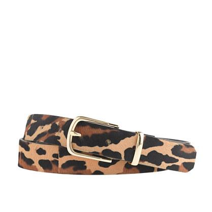 J.Crew little leopard belt