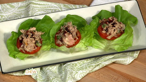 """Learn how to make Lunch Tank winner Christine Taylor's honey mustard chicken salad recipe as seen on """"The Chew"""" on September 10th!"""