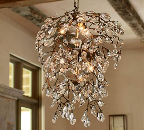 Pottery Barn Camilla Chandelier: A Glam Chandelier Makes A House A Home + Pottery Barn 20