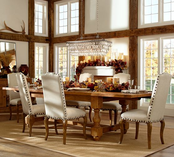 A Glam Chandelier Makes A House A Home Pottery Barn 20