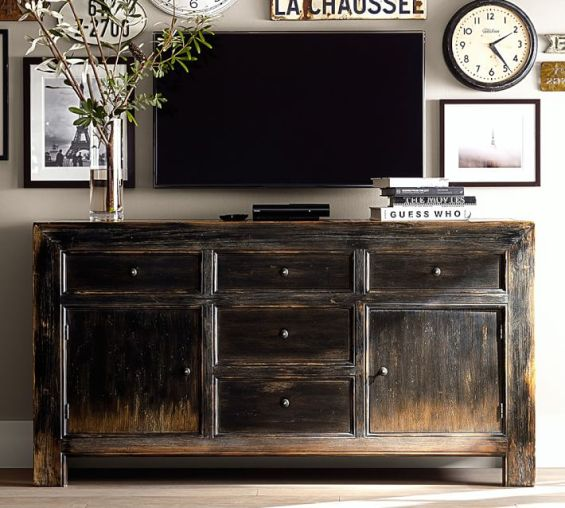 Update Your TV And Entertainment Center During Pottery