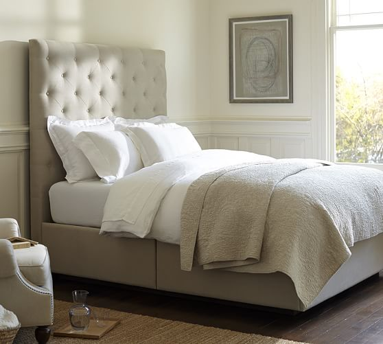 10 Fab Tufted And Upholstered Beds 15 Off During Pottery