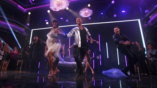 "Dancing With The Stars season 20 episode 2: Music legend Patti LaBelle performs her salsa routine to 50 Cent's hip-hop hit ""In Da Club"" on Monday, March 23, 2015."