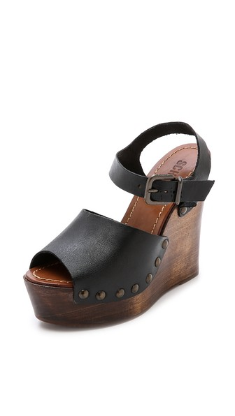 Fashion Trendy Wedge Sandals Are A Must For Spring 2015