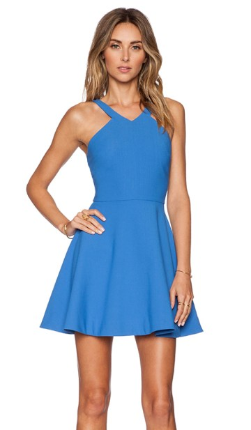 SONYA DRESS By ELIZABETH AND JAMES in Lapis