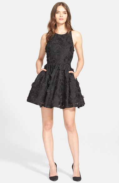 Holiday Party Fit And Flare Dresses On Trend For Fall And