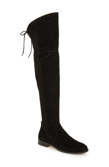 Dolce Vita Dolce Vita 'Neely' Over the Knee Boot (Women) in Black Suede