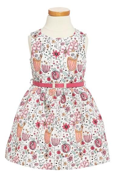 Dorissa 'Amanda' Floral Print Sleeveless Dress (Toddler Girls & Little Girls) in Multi