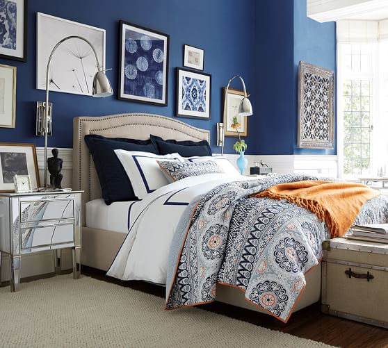 Pottery Barn PIA MEDALLION QUILT & SHAM Pottery Barn Friends and Family Sale