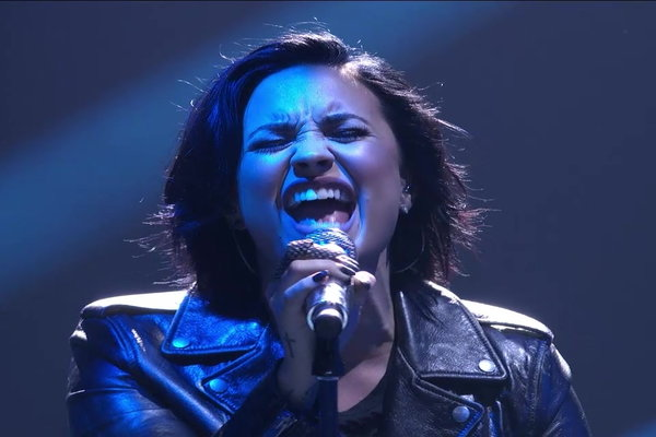"""Watch pop star Demi Lovato perform """"Stone Cold"""" on American Idol on Thursday, March 3, 2016. American Idol Top 8"""