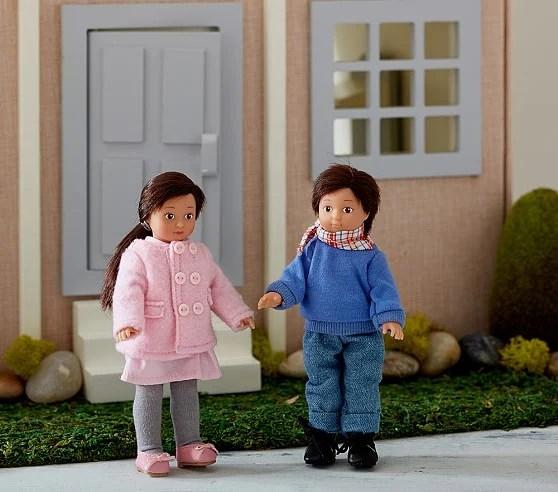 Monique Lhuillier Mini Götz Doll Girl Boy Pottery Barn Kids