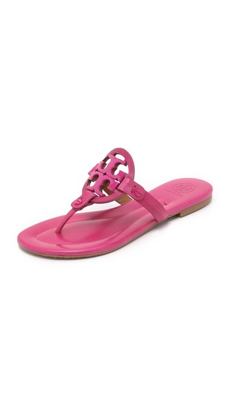 Tory Burch Miller Thong Sandals Saucy Pink Shopbop Spring Sale