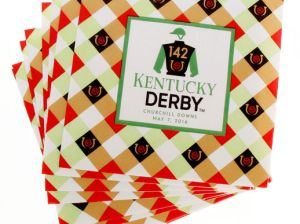 """KENTUCKY DERBY 142 24-PACK 13"""" X 13"""" LUNCHEON NAPKINS kentucky derby party home decor"""