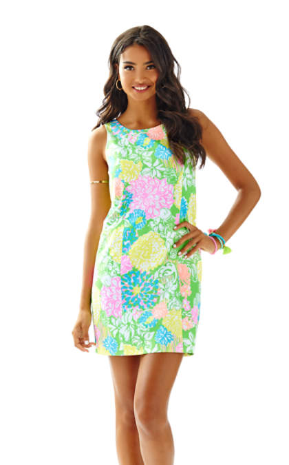 Lilly Pulitzer CATHY SHIFT DRESS Multi Hibiscus Stroll lilly pulitzer matching mother daughter dresses