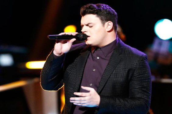 """Watch The Voice Season 10 The Knockouts Night Three: See Nate Butler of Team Adam perform Al Green's classic song """"Let's Stay Together."""""""