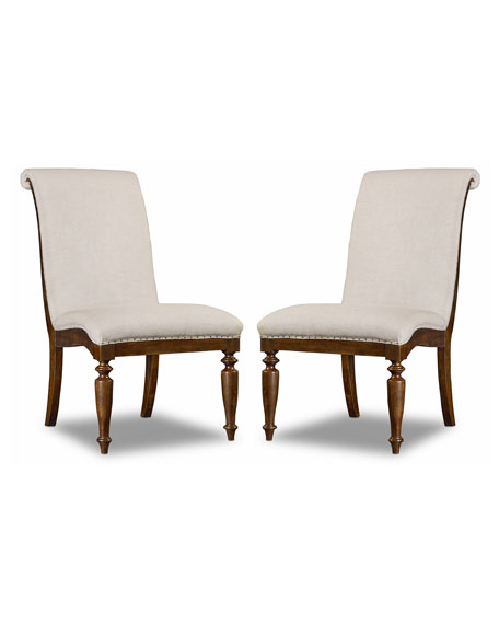 Hooker Furniture Cecile Dining Side Chair, Pair Horchow friends and family sale