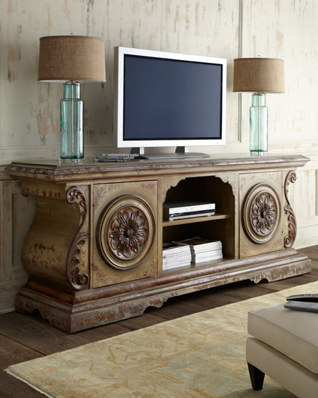 Lana Entertainment Console Horchow friends and family sale