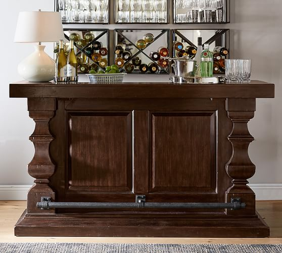 Pottery Barn Banks Bar  pottery barn dining furniture sale