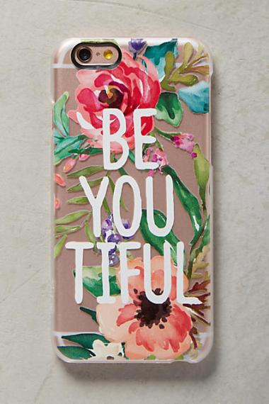 Casetify Floral BE YOU TIFUL iPhone 6 & 6 Plus Case Pink