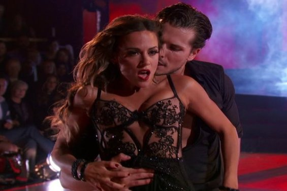 Watch Dancing With The Stars Season 23 Episode 1: See country singer and new mom Jana Kramer and her partner Gleb Savchenko wow the judges with their dangerous Viennese waltz on Monday, September 12, 2016.
