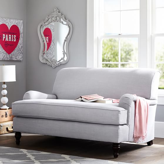 faux leather chair and a half silver dining covers pottery barn teen seating sale: save 40% off sofas, chairs, beanbags!