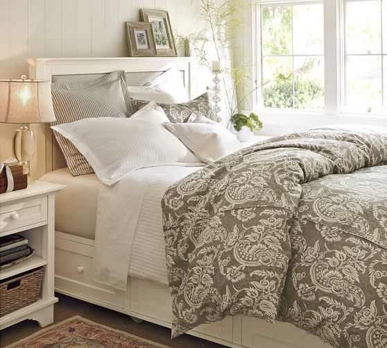 2016 pottery barn winter warehouse sale save 70 on for Cynthia storage bed