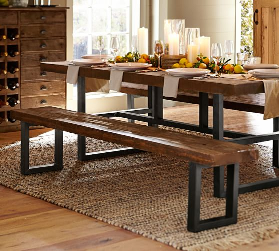 Pottery Barn GRIFFIN RECLAIMED WOOD BENCH pottery barn flash sale