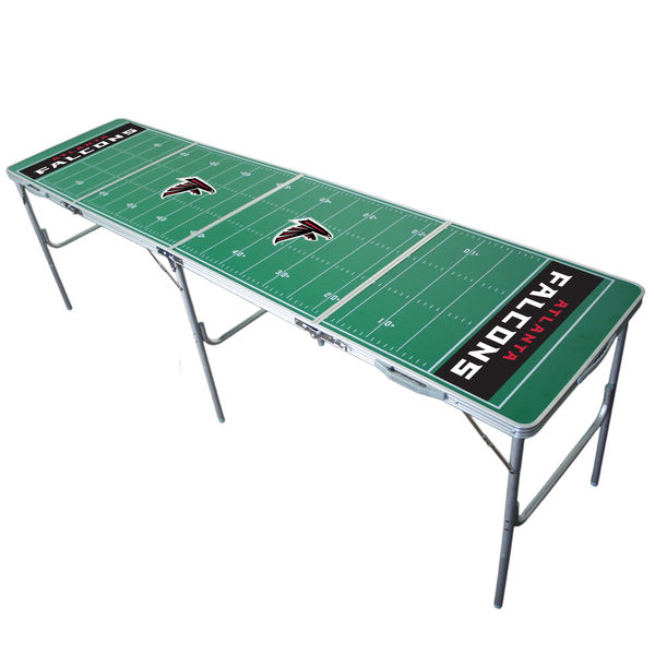 Atlanta Falcons 2' x 8' Tailgate Table atlanta falcons super bowl li party