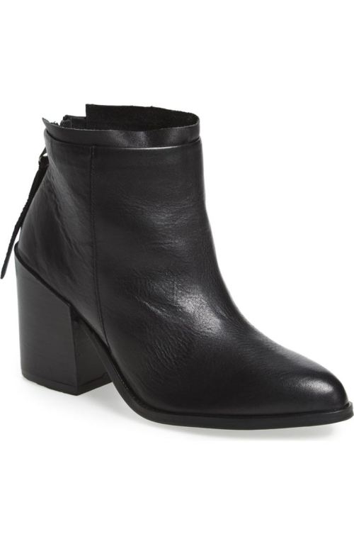 BASKE california 'Lakota' Bootie (Women) Black Leather Nordstrom winter sale