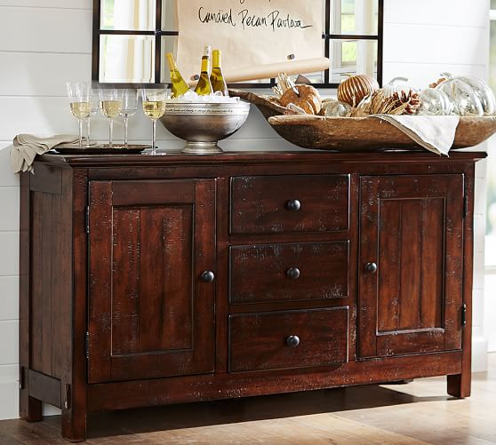 Pottery Barn BENCHWRIGHT BUFFET pottery barn presidents day premier event sale