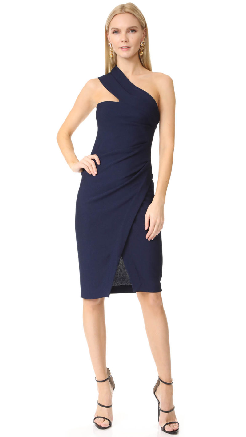 One Shoulder Dresses On Trend For 2017 Kentucky Derby And