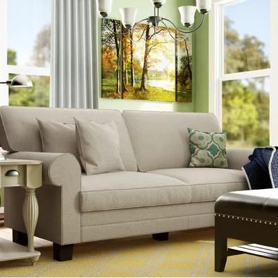 albany leather sofa antique camel back wayfair living room furniture sale: save 70% sofas ...