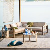 West Elm Outdoor Home Sale! 30% Off Outdoor Sectionals ...