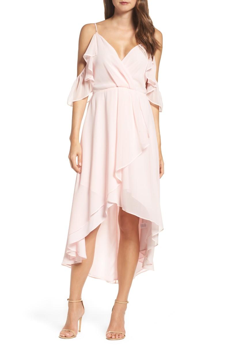 Ruffle Hem Dresses For Summer Wedding Guest Season