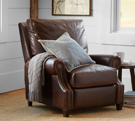 leather club chairs for sale at home pottery barn sale: up to 30% off recliners, sofas, sectionals, armchairs and more!