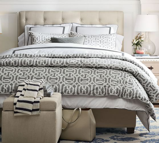 pottery barn chesterfield upholstered sofa wrought iron set in pune premier sale: save up to 75% off furniture ...