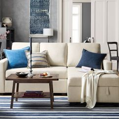 Left Chaise Sofa Sectional Slipcover Elite Tyson Pottery Barn Sale: Up To 30% Off Recliners, Sofas ...