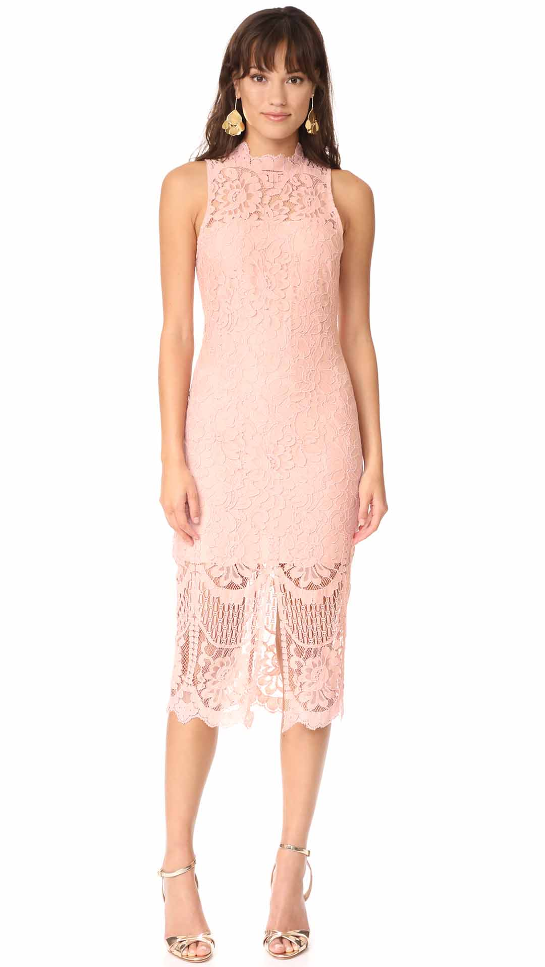 Trendy Lace Bodycon Dresses For Summer Wedding Guests 2017 Style