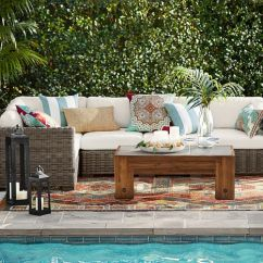 Huntington Sectional Sofa Htl Power Reclining 60% Off Pottery Barn Outdoor Furniture Sale: Save On Sofas ...