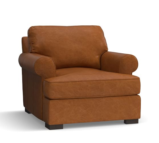 arm chairs for sale electronic wheel chair pottery barn leather sofas armchairs save 20 on gorgeous townsend roll armchair