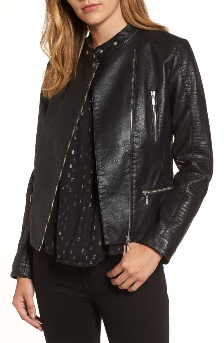 The Best Faux Leather Moto Jackets On Trend For Fall 2017