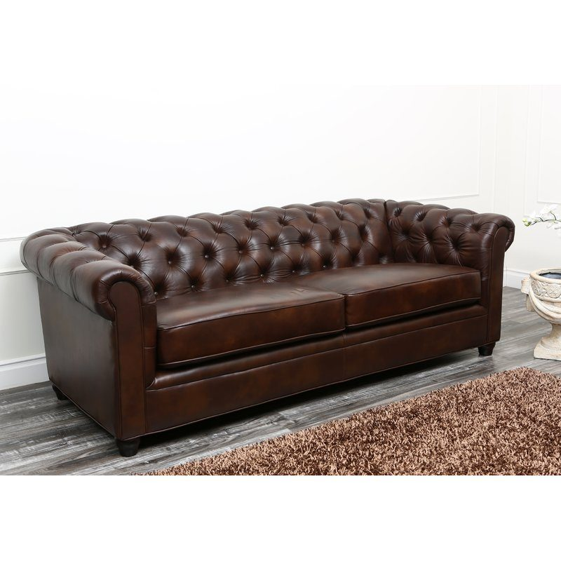 pottery barn chesterfield upholstered sofa chair setup joss and main furniture blowout sale! 75% off ...