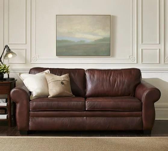 leather sofa like pottery barn red corner ebay 2017 sleeper sofas sale 30 off upholstered pearce sleepers