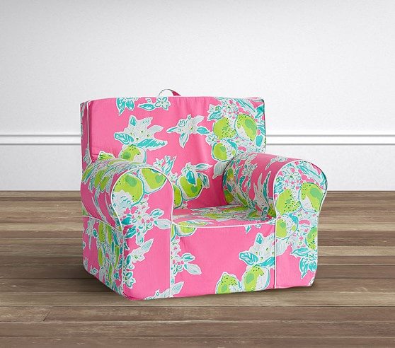 pottery barn baby chair cover rubber feet for metal legs obsessed with lilly pulitzer furniture, decor | candie anderson