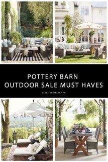 Pottery Barn Outdoor Furniture And Decor